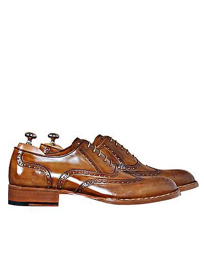 Handcrafted Premium Leather Lorenzo T Shoe Oxford Shoe T 20d39a