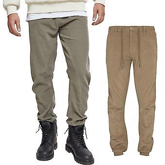 Urbains classics - jogging velours côtelé pantalons pantalons