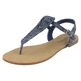 Ladies Savannah Toe Post Sandals