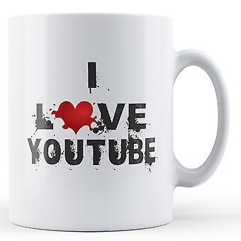 I taza impresa amor Youtube