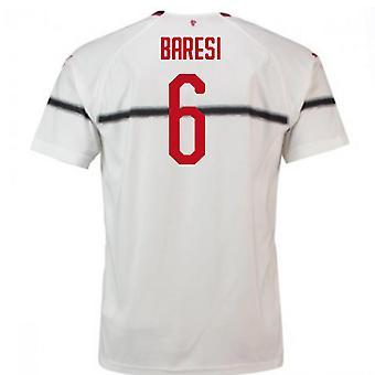 Koszulkę od piłki nożnej Puma 2018-2019 AC Milan (Baresi 6)