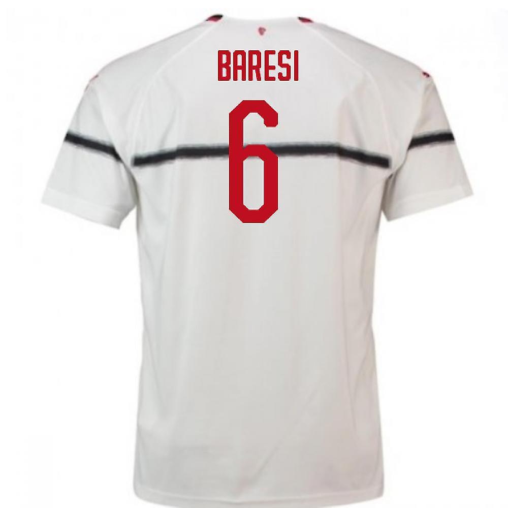 2018-2019 AC Milan Puma Away Football Shirt (Baresi 6)