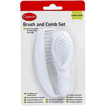Clippasafe Baby Brush & Comb Set