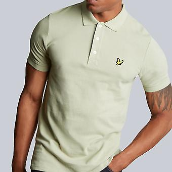 Lyle & Scott Plain Polo Shirt Green Stone