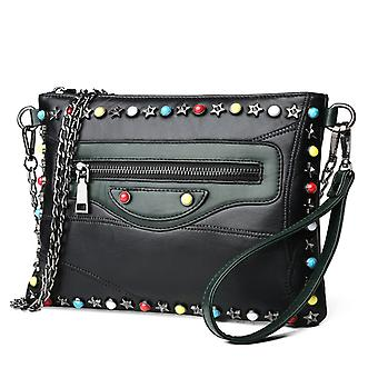 Shoulder handbag in genuine Sheepskin LAMM8066