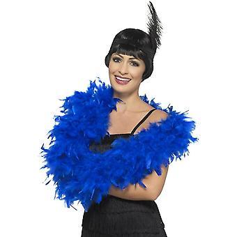 Deluxe Boa, Royal Blue, 180cm, 80g
