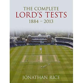 The Complete Lord's Tests