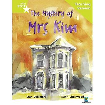 The Mystery of Mrs Kim: Lime Level (Rigby Star Guided)