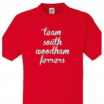 Team South woodham ferrers Red T shirt