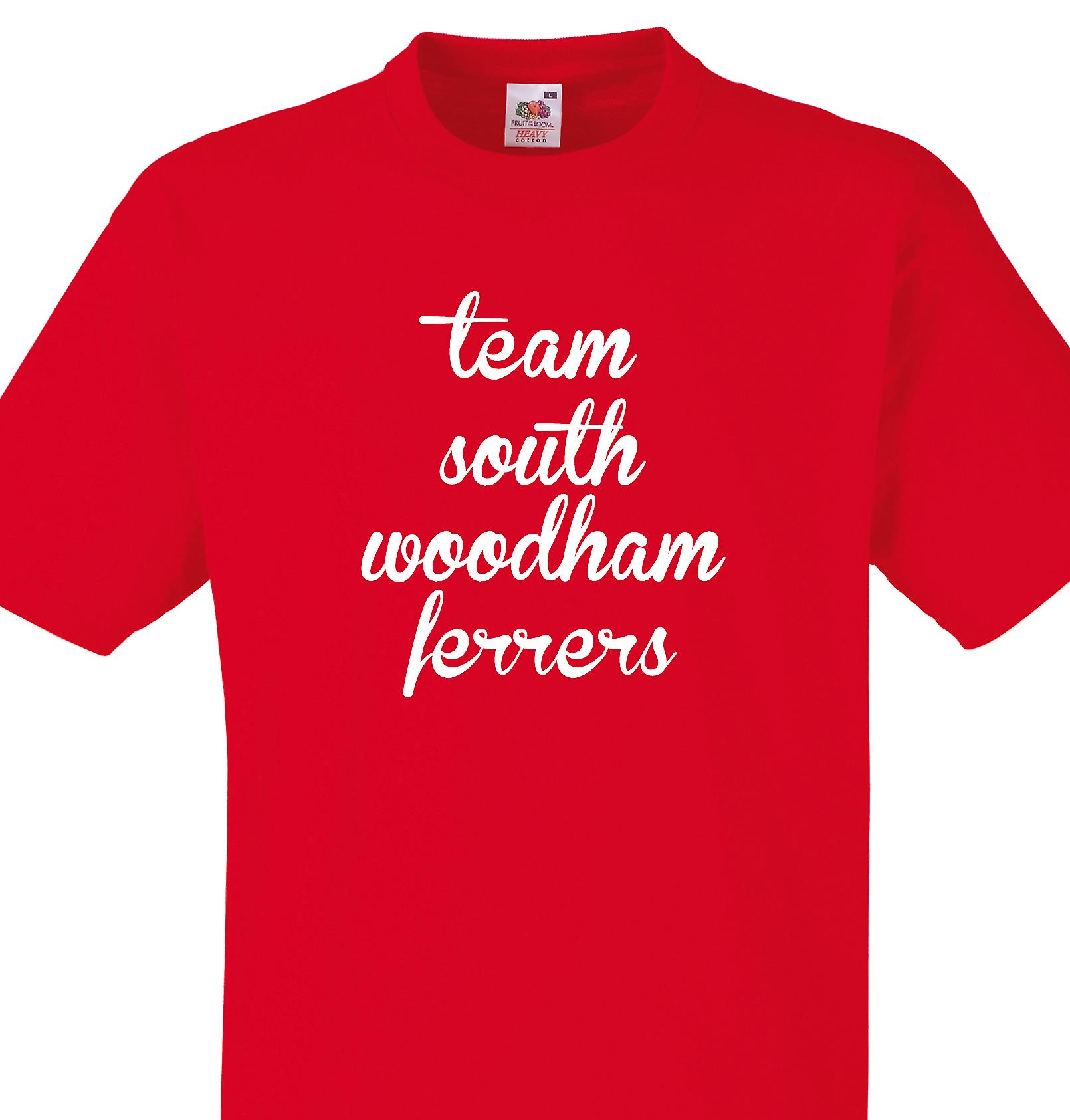 Team South woodham ferrers Red T shirt