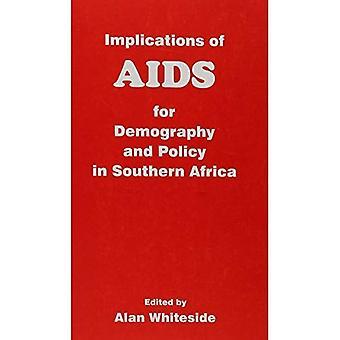 Gevolgen van AIDS voor demografie en beleid in Zuid-Afrika