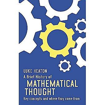 Une brève histoire de la pensée mathématique: principaux concepts et d'où ils viennent (bref historique)