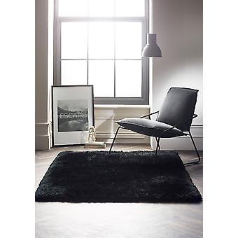 Callie czarny prostokąt dywany zwykłym/prawie zwykły dywany