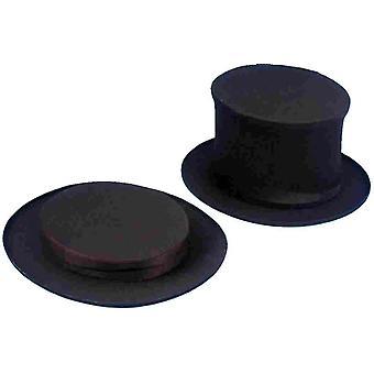 Faltbare schwarze Hut für Kinder