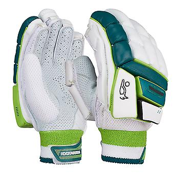 Kookaburra 2019 Kahuna 2.0 Cricket Batting Gloves White/Green