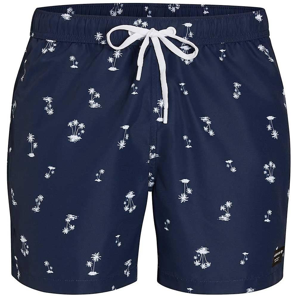 Bjorn Borg L.A. Mini palmiers impression Swim Shorts, insigne bleu