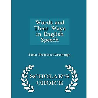 単語やグリノー ・ ジェームズ ・ ブラッドストリートで英語音声学者チョイス版で彼らの方法