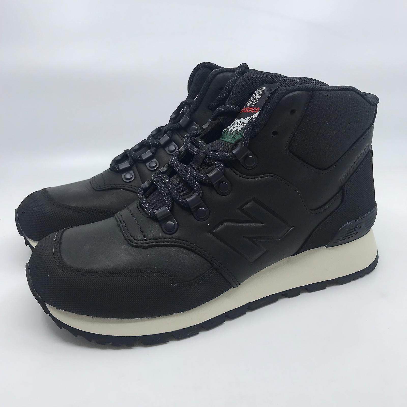 New balance HL755 mens sneaker boots turn shoes black leather new original box