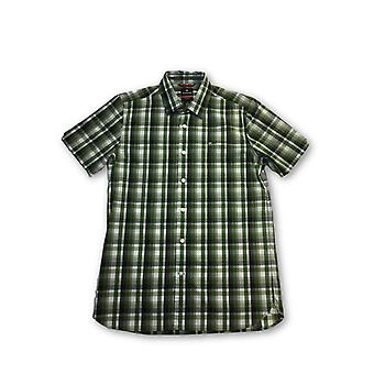 Victorinox 'chimbrig' tailored fit hirt in green check
