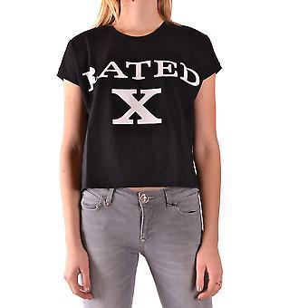 Jeremy Scott Black Cotton T-shirt