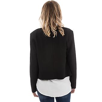 Womens Only Carolina Short Blazer In Black