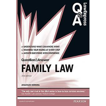 Law Express Question and Answer - Family Law by Jonathan Herring - 978