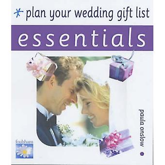 Plan Your Wedding Gift List by Paula Onslow - 9780572029623 Book