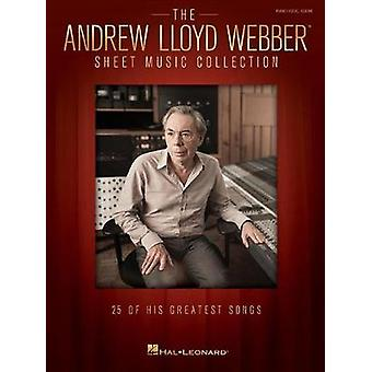 THE ANDREW LLOYD WEBBER SHEET MUSIC COLLECTION 25 SONGS PVG BOOK - 97