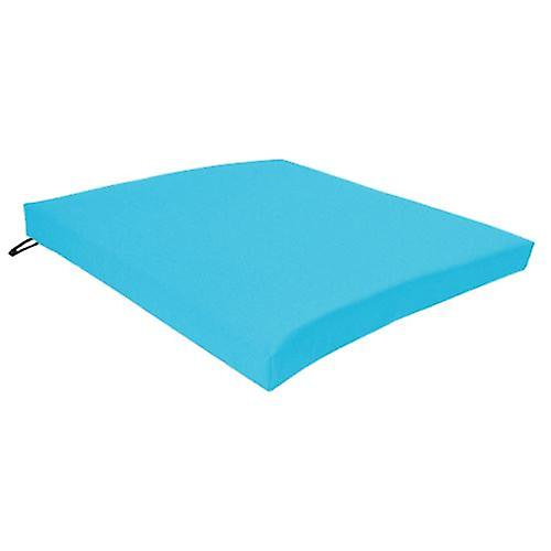 Gardenista® Turquoise Water Resistant Seat Pad