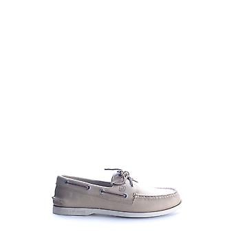 Sperry Beige Leather Loafers