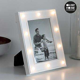 Frame LED Photos of Office Oh My Home