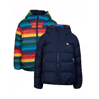 Paul Smith Paul Smith Junior Victorious Rainbow Stripe Puffer