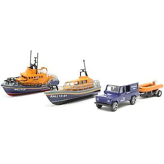 Ensemble-cadeau Corgi RNLI - Shannon Severn Lifeboat and Flood Rescue Team
