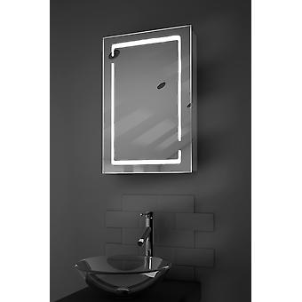 Filia LED Bathroom Cabinet with Demister Pad, Sensor & Shaver k350