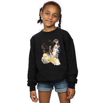 Star Wars The Rise Of Skywalker Rey Collage Girls Sweatshirt