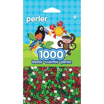 Perler Fun Fusion Perlen 1000 Pkg Holiday Mix Pbb05 15134