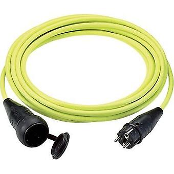 Current Extension cable [ PG rubber plug - PG rubber connector] Yellow 25 m LappKabel 73222326