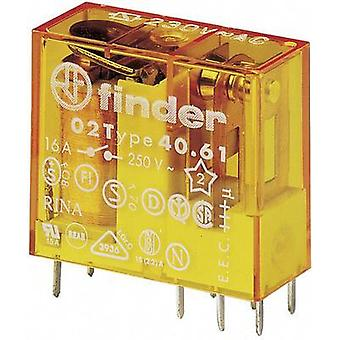 Finder 40.61.8.230.0000 - Miniature PCB Relay 230Vac SPDT-CO