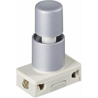 Pushbutton switch 250 Vac 2 A 1 x On/Off interBär 3030-611.81 latch 1 pc(s)