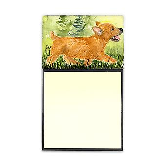 Norwich Terrier Refiillable Sticky Note Holder or Postit Note Dispenser SS8884SN