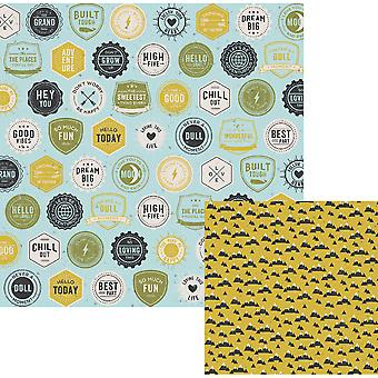 High Five Double-Sided Cardstock 12