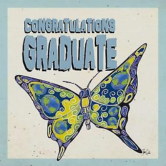 Graduation Butterfly Poster Print by  Shanni Welsh