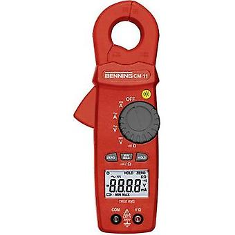 Current clamp, Handheld multimeter digital Benning BENNING CM 11 CAT IV 300 V Display (counts): 6000