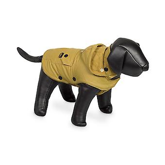 Nobby Mellow Dog Coat Yellow With Hood 29cm