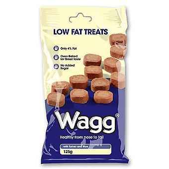 Wagg fedtfattig behandler 125g (pakke med 7)