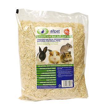 Allpet Soft nåletræ sengetøj/Nesting Standard