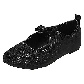 Girls Spot On Shoes H2306