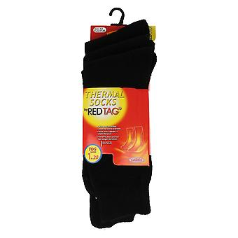 Ladies Red Tag Thermal Socks 3 Pack
