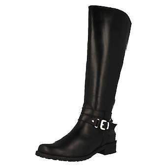 Ladies Clarks Riding Style Boots Nessa Abbey