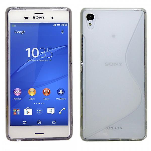 Silikoncase S-line transparent to Sony Xperia Z3 plus (+) and dual